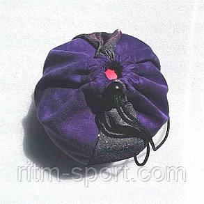 Чохол для гімнастичного м'яча фіолетовий, фото 2
