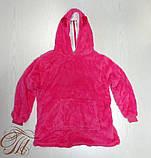 "Подушка - плед ""Їжачок"" колір рожевий, фото 4"