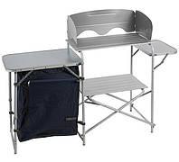 Туристическая кухня походная складная Brunner МТ-1, стол кухонный походной 143*40*80 см, 6.5 кг