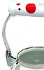 Эмалированный чайник с подвижной ручкой Benson BN-124 белый в горошек (1,5 л)   чайник Бенсон, Бэнсон, фото 5