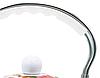 Емальований чайник з рухомою ручкою Benson BN-110 білий з червоним (2,5 л) | чайник Бенсон, Бэнсон, фото 7