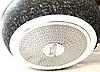 Сковорода Benson BN-542 (24 см) з кришкою, антипригарне гранітне покриття   сковорідка Бенсон, Бэнсон, фото 2