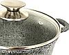Каструля Benson BN-350 з гранітним антипригарним покриттям (2.2 л)   казан з кришкою Бенсон   каструлі Бэнсон, фото 2