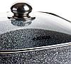 Гусятниця Benson BN-362 з мармуровим покриттям (5.1 л)   каструля з кришкою Бенсон, каструлі Бэнсон, фото 4