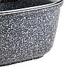 Гусятниця Benson BN-362 з мармуровим покриттям (5.1 л)   каструля з кришкою Бенсон, каструлі Бэнсон, фото 6