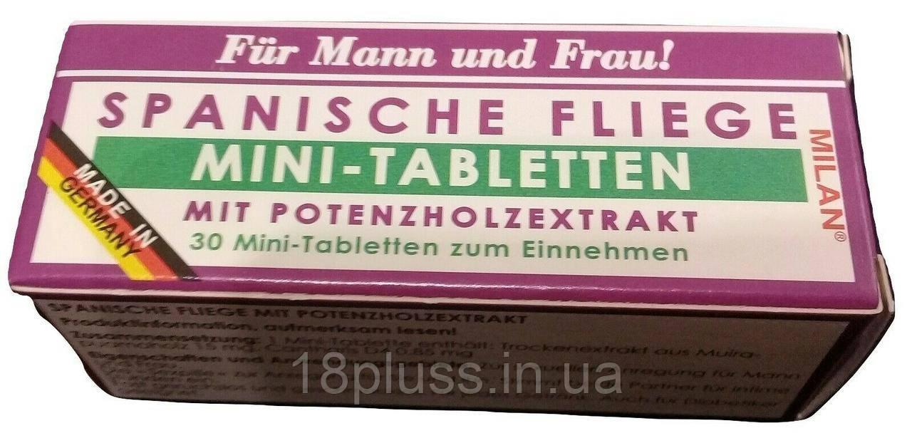 Возбуждающие таблетки для двоих Milan Spanische Fiege Mini-Tabletten, 30 шт.