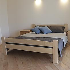 Кровать деревянная полуторная Каспер (массив бука)