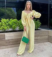 Женский летний костюм с топом