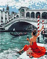 Картины по номерам 40×50 см Babylon Мост Риальто (VP 1375)