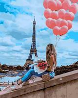 Картины по номерам 40×50 см Babylon Лучший день в Париже (VP 1377)