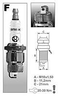 Свеча зажигания BRISK Super FR15YC Ford 766 (1 шт.)