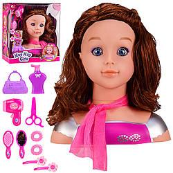 Кукла для причесок манекен
