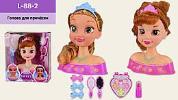 Игрушка манекен для причесок и макияжа кукла, с аксессуарами 2 вида