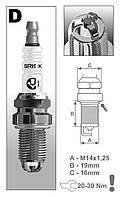 Свеча зажигания BRISK 2110 16v 3-х Extra DR15TC Brisk (шт)