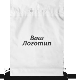 Пакет банан 40х50 (білий), 60 мкм, 1+0