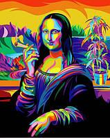 Картины по номерам 40×50 см Babylon Мона Лиза - Растафарай (VP 1385)