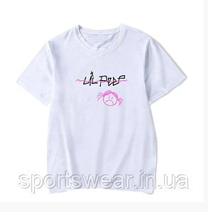 Футболка женская Lil Peep Angry Girl / Snega Face / свободная белая