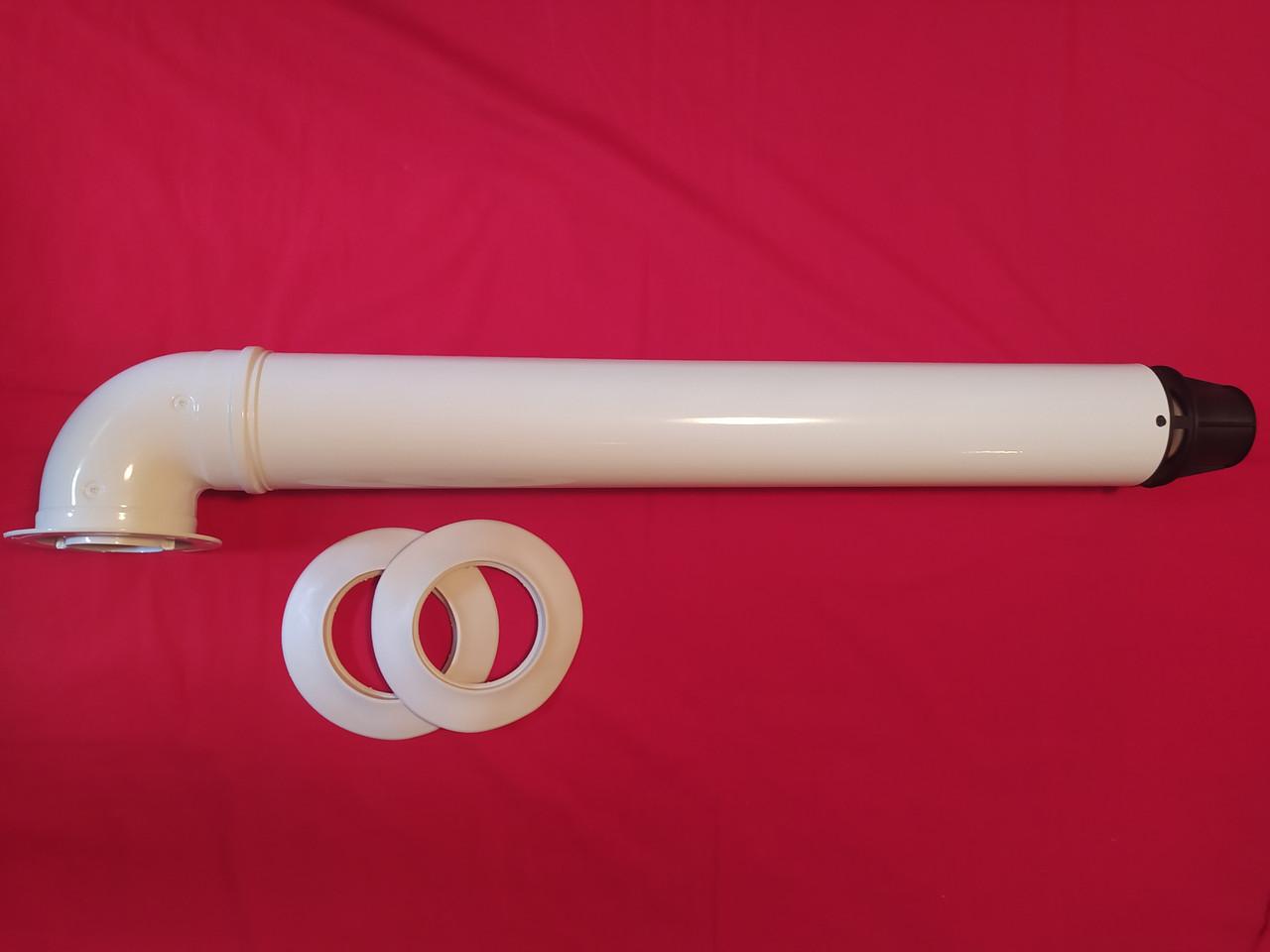 Коаксіальний димохід 60/100 для котла Bosch Buderus