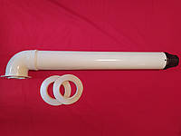 Коаксиальный дымоход 60/100 для котла Bosch Buderus, фото 1