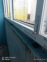 Остекление лоджии 2,95 м, фото 2