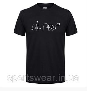 Футболка женская Lil Peep свободная черная