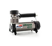 Автомобильный компрессор URAGAN 90180, автокомпрессор с манометром