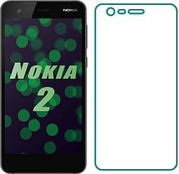 Защитное стекло Nokia 2 (Прозрачное 2.5 D 9H) (Нокиа 2)