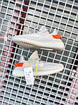 Жіночі кросівки Adidas Yeezy Boost 350 V2 Tail Light (сірі) К2770 якісні круті взуття, фото 2