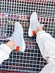 Женские кроссовки Adidas Yeezy Boost 350 V2 Tail Light (серые) К2770 качественные крутые обувь, фото 3