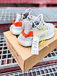 Женские кроссовки Adidas Yeezy Boost 350 V2 Tail Light (серые) К2770 качественные крутые обувь, фото 4