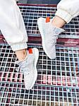 Женские кроссовки Adidas Yeezy Boost 350 V2 Tail Light (серые) К2770 качественные крутые обувь, фото 5