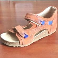Ортопедичне взуття босоніжки дитячі для дівчинки Ortex коричневі