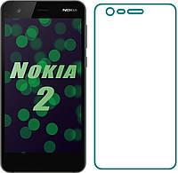 Захисне скло Nokia 2 (Прозоре 2.5 D 9H)