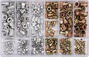 Нитогайкистальные и алюминиевыеYATO М3-М10 мм300 шт