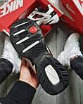 Чоловічі кросівки Nike M2 Tekno (біло-чорно-червоні) якісна весняна взуття KS 1525, фото 4