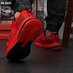 Чоловічі кросівки Puma LQDCELL (червоні) KS 1656 демісезонна спортивне взуття, фото 4