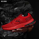 Чоловічі кросівки Puma LQDCELL (червоні) KS 1656 демісезонна спортивне взуття, фото 6