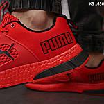 Чоловічі кросівки Puma LQDCELL (червоні) KS 1656 демісезонна спортивне взуття, фото 7