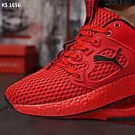 Чоловічі кросівки Puma LQDCELL (червоні) KS 1656 демісезонна спортивне взуття, фото 8