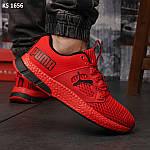 Чоловічі кросівки Puma LQDCELL (червоні) KS 1656 демісезонна спортивне взуття, фото 9