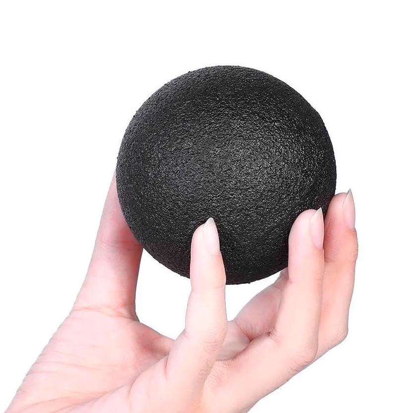 Массажный мячик, массажер для спины, шеи, ног и стоп (мяч для массажа) OSPORT EPP 8см (MS 3338-1)