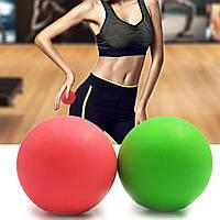 Массажный мячик, массажер для спины, шеи, ног и стоп (мяч для массажа) OSPORT 6см (MS 3271-1)