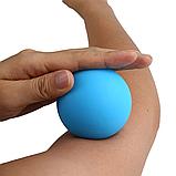 Массажный мячик, массажер для спины, шеи, ног и стоп (мяч для массажа) OSPORT 6см (MS 3271-1), фото 2
