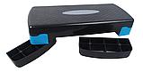 Степ платформа двухступенчатая (подставка доска-степ тренажер для аэробики, фитнеса) OSPORT (MS 0536-1), фото 9