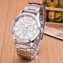 Модные женские часы Michael Kors качественные реплика золотистые серебристые Серебро