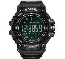Мужские спортивные смарт часы SMAEL 1617 smart watch, наручные спорт часы водонепроницаемые