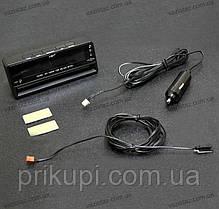 Годинник - термометр - вольтметр VST 7010V зелена/синя підсвітка, фото 3