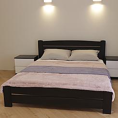 Ліжко дерев'яне двоспальне Дональд Maxi (масив бука)