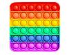 Pop It (поп ит) сенсорная игрушка антистресс, радужный квадрат