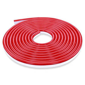 Світлодіодна стрічка NEON 12В JL 2835-120 R IP65 червоний, герметична, 1м